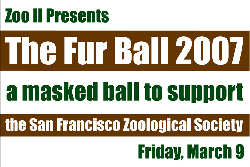 San Francisco Zoo Logo Click Thumbnails Above to See
